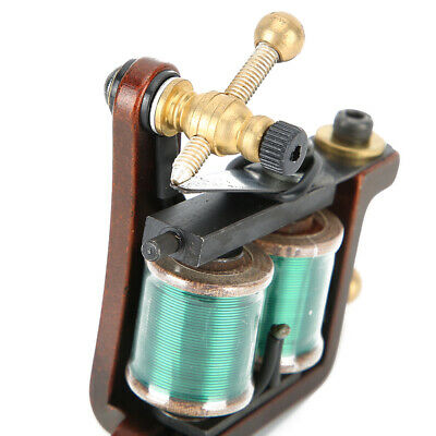 £44.94 • Buy Antique Brass Tattoo Tattoo Machine Kit Low Noise Coil For Women Beginners
