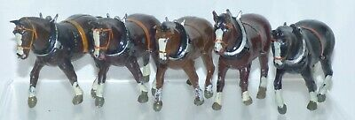 £14.99 • Buy RH08 Spare Britains Working Horses For Ploughs, Log Wagon Etc