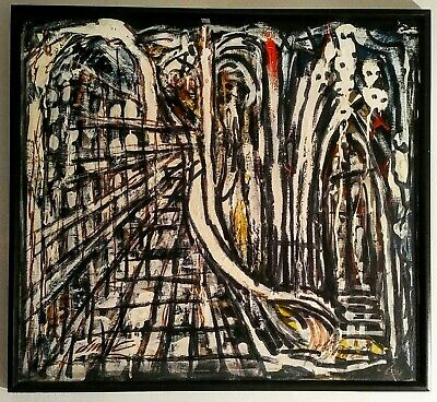 $3800 • Buy Richard Dempsey  Church At Milk River Jamaica,  1965, Signed Painting On Canvas