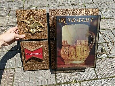 $ CDN50.34 • Buy Budweiser King Of Beers Vintage Lighted Sign On Draught Tested