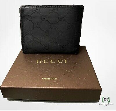 $56 • Buy Used Mens Black Authentic Gucci Wallet