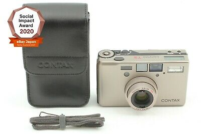 $ CDN2769.46 • Buy [Top Mint Case S/N70497] CONTAX T3 Double Teeth Compact Film Camera From Japan
