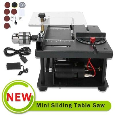 £72.79 • Buy DIY Woodworking Lathe Mini Electric Table Saw Bench Saw Kit 220V