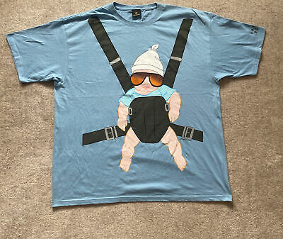 """£19.95 • Buy Caesers Palace The Hangover Baby T Shirt Blue 52"""" Chest Brand New"""