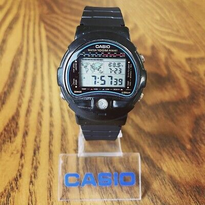 £7.19 • Buy RARE Vintage 1989 Casio TS-100 Digital Thermometer Watch, Made In Japan Mod. 815