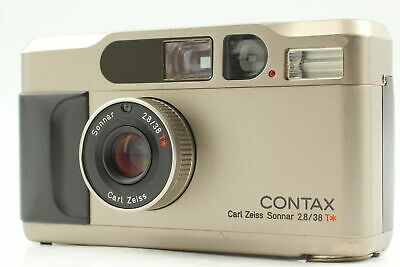 $ CDN1007.07 • Buy Read [Exc+5] Contax T2 Silver 35mm Point & Shoot Compact Film Camera From JAPAN