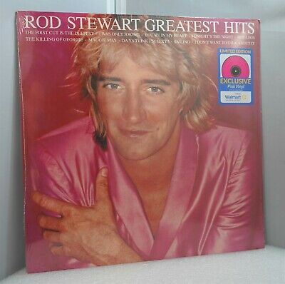£16.79 • Buy Rod Stewart Greatest Hits LP Pink Color Vinyl  Limited Exclusive NEW SEALED