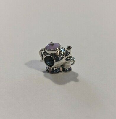 £6 • Buy Pandora Mrs Potts And Chip Charm, S925 ALE Silver Hand Painted Enamel Disney