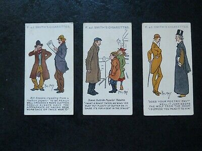 £3.50 • Buy Phil May Sketches Smith`s Cards 1908