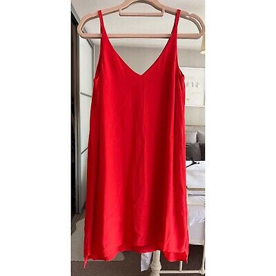 £5.99 • Buy Topshop Red Cami Dress Size 8