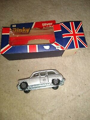£3.49 • Buy Dinky Toys 241 Silver Jubilee Taxi 1977 Boxed