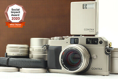 $ CDN1783.07 • Buy [Near Mint In Case] CONTAX G1 20years Kit Film Camera Rangefinder From JAPAN