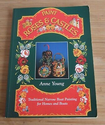 £10 • Buy Paint Roses & Castles Narrow Boat Painting For Homes And Boats By Anne Young P/B