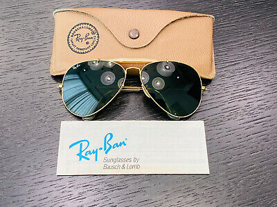 AU15.88 • Buy Vintage Ray-Ban Outdoorsman Bausch&Lomb Sunglasses USA 62[]14 G15 Mint Condition