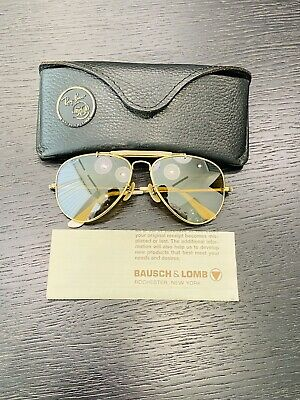 AU289.62 • Buy Vintage Ray-Ban THE GENERAL RB50 Bausch& Lomb Sunglasses USA 58[]14 Used Cond