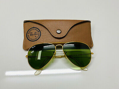 AU28.31 • Buy Vintage Ray-Ban Aviator RB3 Bausch& Lomb USA Sunglasses 58[]14 Good Condition