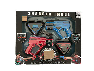 £6.90 • Buy Sharper Image Two Player Space Laser Tag Game - Batteries Not Included