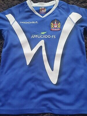 £10.99 • Buy Wigan Warriors KooGa 2011 Alternative Away  Rugby Super League Size M For Child