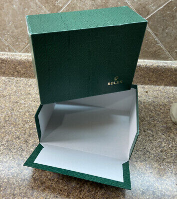 $ CDN49.10 • Buy Vintage 1990's Rolex Large Green Outer Box & Lid