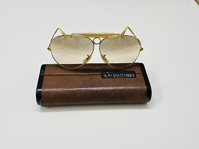 AU19.62 • Buy Vintage Ray-Ban Shooter Fantasees Bausch& Lomb USA Sunglasses 62[]14 G15 Gold