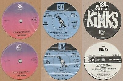 £6.50 • Buy Kinks 3 X7   You Really Got Me  ,  Sunny Afternoon  , Mini Monster 4 Track E.P.