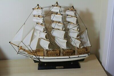 £45 • Buy Wooden Model Sailing Ship - Constitution