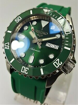 $ CDN176.57 • Buy SKX007 Divers Watch Seiko SII NH36 Hacking Movement Double Dome Ceramic SKX Mod