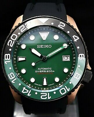 $ CDN173.11 • Buy SKX007 Divers Watch Seiko SII Automatic NH36 Movement Rose Gold 5ATM