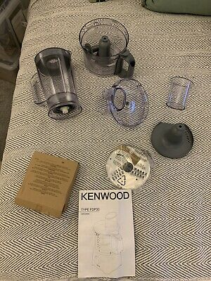 £10 • Buy Kenwood FDP301SI Multipro Compact Food Processor - All Parts No Motor NEW