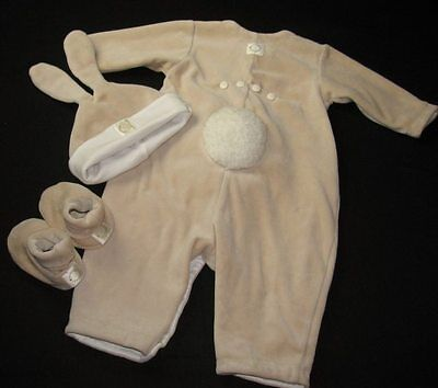 £29.09 • Buy Anne Geddes Bunny Suit 3-6 Months RARE Beige Photo Op Easter RARE Boys Girls