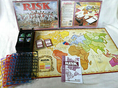 £19.99 • Buy Vintage RISK 1996 War Board Game Strategy World Conquest Parker Hasbro Complete
