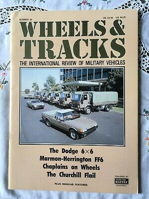 $1.39 • Buy Wheels & Tracks The International Review Of Military Vehicles No.20 (Paperback)