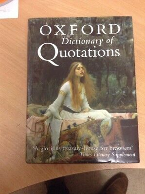 £3 • Buy Oxford Dictionary Of Quotations Very Good