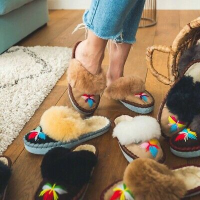 £16 • Buy Sheepers Urban Outfitters  Rainbow Mules Slippers Size 6 New