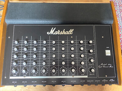 $ CDN260.35 • Buy Vintage Marshall 2125 Mixing Desk PA Mid 1970's Works But Read Advert