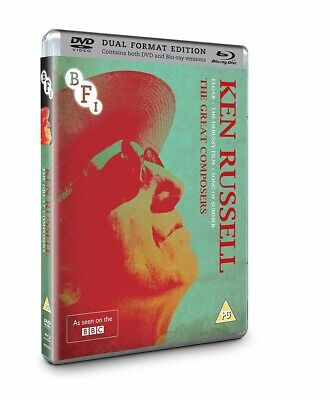 £25.99 • Buy Ken Russell Collection The Great Composers Blu-ray + DVD New 2016 Region B