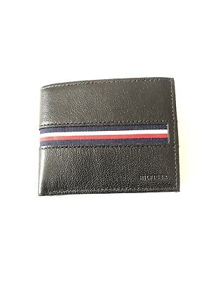 £16.99 • Buy Mens Black Tommy Hilfiger Leather Wallet Classic