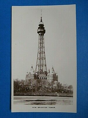 £2.99 • Buy Rp Postcard New Brighton Tower Wirral Unposted