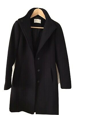 £40 • Buy The Reiss Archive 'Forest' Coat In Navy Size UK 8
