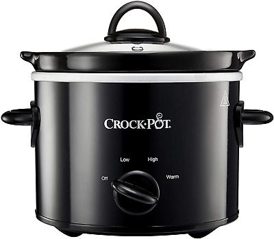 £20.79 • Buy Slow Cooker Removable Easy Clean Ceramic Bowl Crock Pot 1.8-6.5l Small New Uk