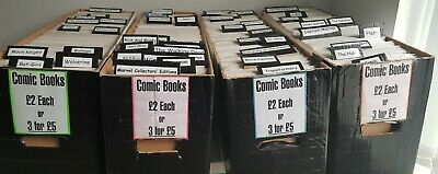 £314.99 • Buy Comic Book Business! Over 1000 Comics, All Bagged&boarded! Must See Listing!...
