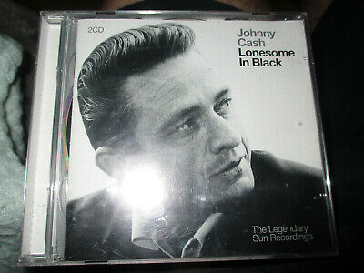 £0.99 • Buy Johnny Cash - Lonesome In Black (The Legendary Sun Recordings, 2004) 2XCDs