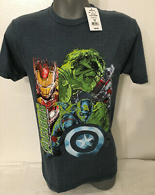 £5.81 • Buy Mens Marvel Avengers T Shirt Age Of Ultron Size S New