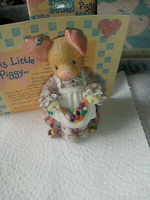 £2.99 • Buy This Little Piggy ( Pork And Beans ) Figurine With Box