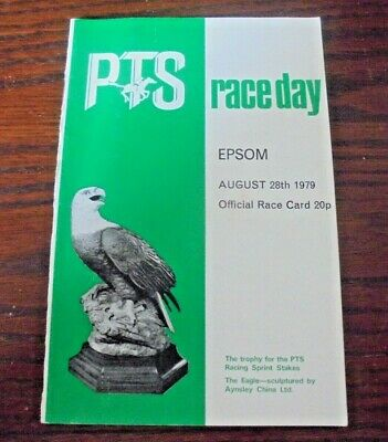 £2.95 • Buy Epsom Race Card August 28th, 1979 - Bank Holiday Meeting, Second Day - Pts Day