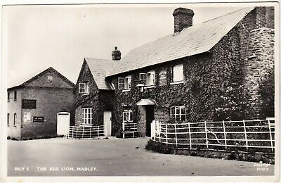 £5.95 • Buy Herefordshire Postcard THE RED LION, MADLEY 1959 By Friths