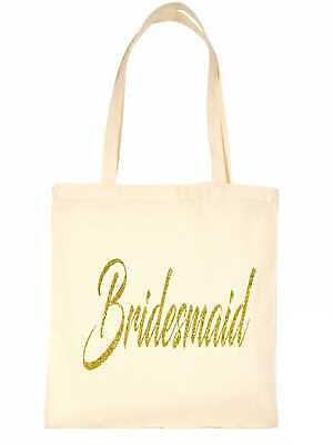 £5.95 • Buy Bridesmaid Funny Wedding Favour Gift Bags Hen Party Gift Funny Shopping Tote