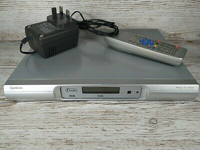 £9.95 • Buy Goodmans GDB5 Digital TV Receiver Freeview Set Top Box With Remote