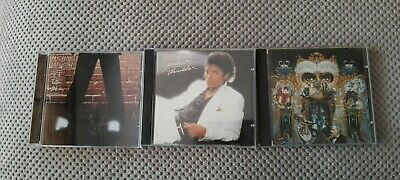 £1.99 • Buy Michael Jackson - Off The Wall / Thriller / Dangerous 3 X CD Albums