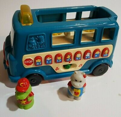 £7.99 • Buy  Vintage VTech Billie The Bus Toy Complete With Figures